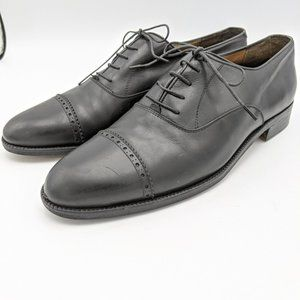 VTG Salvatore Ferragamo Oxford Shoes Leather Mens